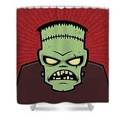 Frankenstein Monster Shower Curtain