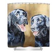Frankie And Ross Shower Curtain
