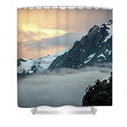 Franz Josef Splendor Shower Curtain