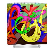 Fraternite Shower Curtain