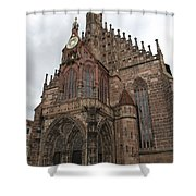 Frauenkirche - Nuremberg Shower Curtain