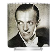 Fred Astaire, Vintage Actor And Dancer Shower Curtain