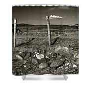 Fred Fencestone Shower Curtain