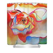 Fred Martin Begonia Shower Curtain