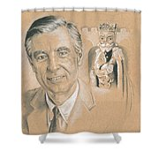 Fred Rogers Shower Curtain
