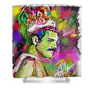 Freddie Mercury, Bohemian Rhapsody Shower Curtain