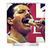 Freddie Mercury, Queen Shower Curtain