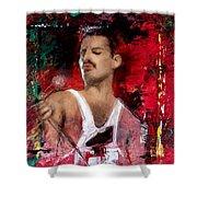 Queen Freddie Mercury Shower Curtain