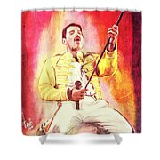 Freddy Mercury Shower Curtain