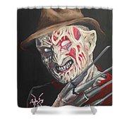Freddy's Back Shower Curtain