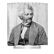 Frederick Douglass Shower Curtain by War Is Hell Store