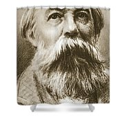 Frederick Engels Shower Curtain