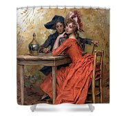 Frederick Hendrik Shower Curtain