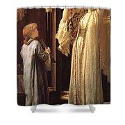 Frederick Leighton Light Of The Harem C  1880 Shower Curtain