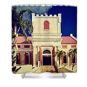 Frederick Lutheran Church In St. Thomas Shower Curtain