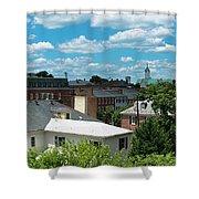 Fredericksburg Roof Tops Shower Curtain