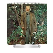 Fredrick Law Olmsted 1895 Shower Curtain