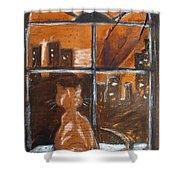 Fredrick's Window Shower Curtain