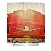 Fred's Farm Truck Shower Curtain