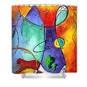 Free At Last Original Art By Madart Shower Curtain