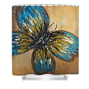 Free Butterfly Shower Curtain