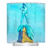 Free Liberty - Da Shower Curtain
