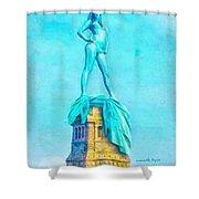 Free Liberty - Pa Shower Curtain