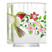 Free Soul Shower Curtain