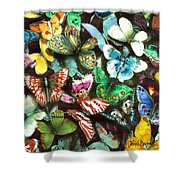 Free To Fly Shower Curtain