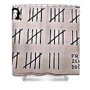Free Zehra Dogan Shower Curtain