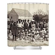 Freed Slaves, 1862 Shower Curtain by Granger