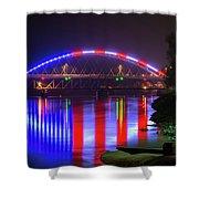 Freedom Bridge Shower Curtain
