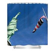 Freedom Flag Shower Curtain