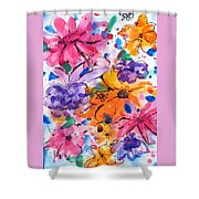 Freedom For Flowers Shower Curtain