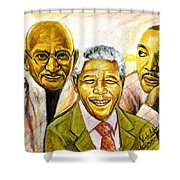 Freedom Hero Shower Curtain