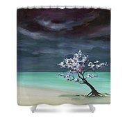 Freedom In Being Dust Shower Curtain