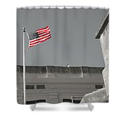 Freedom In Prison Shower Curtain