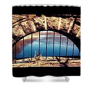 Freedom Is Breaking Down The Walls Shower Curtain
