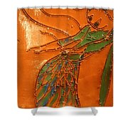 Freedom Of Dance - Tiled Shower Curtain