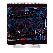 Freedom Of Expression Shower Curtain