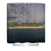 Freedom Of The Seas Shower Curtain