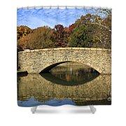 Freedom Park Bridge Shower Curtain