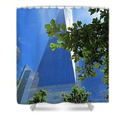 Freedom Tower 02 Shower Curtain