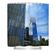 Freedom Tower 03 Shower Curtain