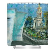Freedom Tower And Aaa Shower Curtain