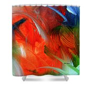 Freedom With Art Shower Curtain