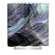 Freeform 1 Shower Curtain