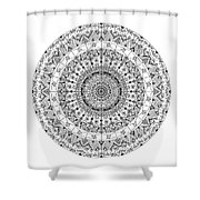 Freehand2 Shower Curtain