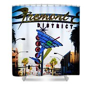 Fremont Street Shower Curtain