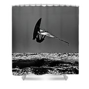 Freestyle Shower Curtain
